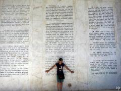 Memorial for fallen heroes during the fall of Bataan