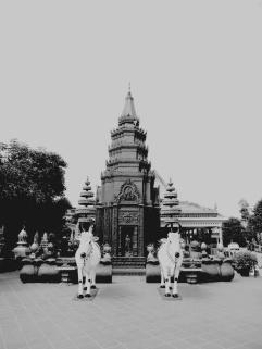 Inside Preah Promreath Pagoda