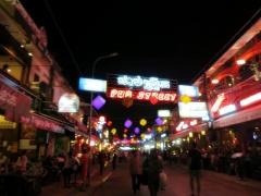 Best nightlife area at Siem Reap